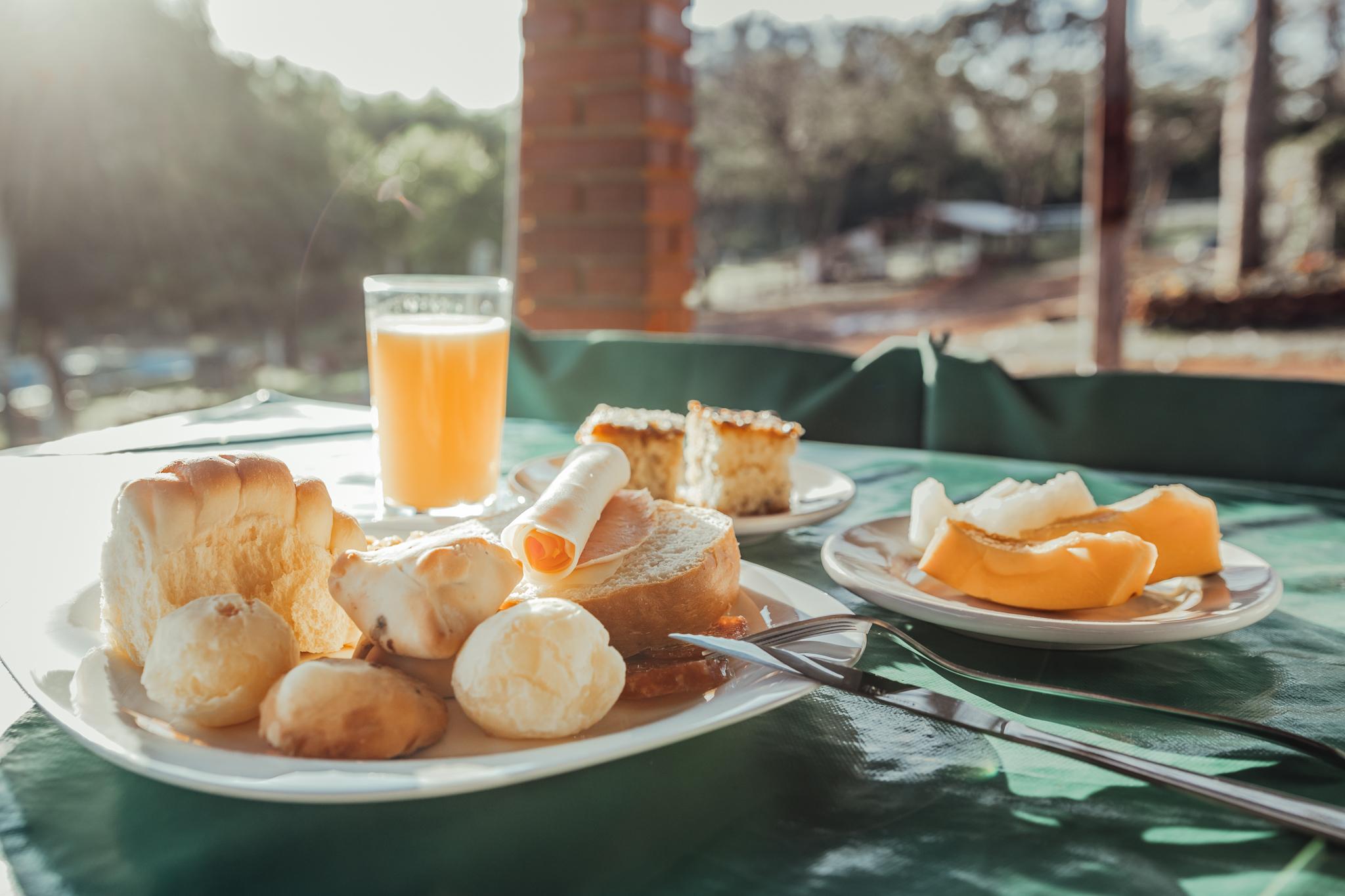 Café da Manhã | Cachoeira 3 Quedas