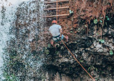 Canionismo na Cachoeira 3 Quedas