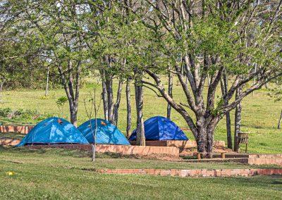 Camping em Brotas na Cachoeira 3 Quedas